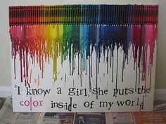 melted crayon art ideas - Yahoo! Image Search Results