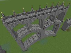 Building Games 325033298105757495 - Multi-Arch stone bridge Minecraft Project Source by xaviertinseau Minecraft Bridges, Minecraft Building Guide, Minecraft Structures, Minecraft Plans, Minecraft City, Minecraft Construction, Minecraft Survival, Minecraft Tutorial, Minecraft Blueprints