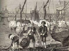Mudlarks on the Thames