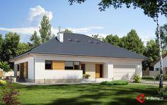 E-174 - E-DOMY.pl Projekty domów jednorodzinnych, piętrowych, energooszczędnych.