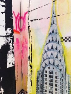 Come create with me Sept. 28-29 in NYC! Dawn DeVries Sokol: Ode to NYC Journal Workshop! - Little Bird Creations - Art Journaling & Mixed Media Art (New York, NY) - Meetup
