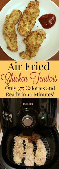 Air fried chicken tenders that taste like the real deal at only a fraction of the calories! Air fried chicken tenders that taste like the real deal at only a fraction of the calories! Air Fryer Chicken Tenders, Fried Chicken Tenders, Air Fry Chicken, Air Fryer Fried Chicken, Recipes With Chicken Tenders, Chicken Fried Chicken, Polish Chicken, Healthy Chicken, Air Frier Recipes