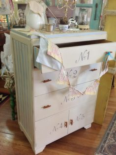Art Deco beauty with Royal Design Studios stencil and Chalk Paint® decorative paints by Annie Sloan