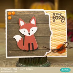 Foxy Gift Card Holder                                                                                                                                                      More