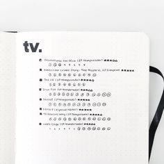 """vestiblr: """"my 2017 tv series tracker so far! ig: vestiblr """""""