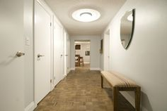 Parquet floors get a coat of Bobyle for a new look, Jeff & Kirsty Parquet Flooring, Floors, Income Property, Minwax, Season 7, Hgtv, Coat, Furniture, Design