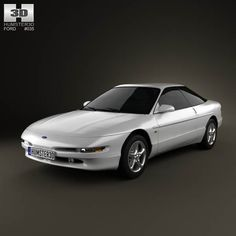 Ford Probe GT 1995 3d model from humster3d.com. Price: $75