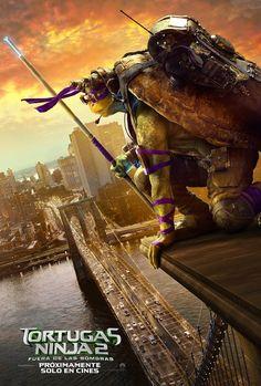 As Tartarugas Ninja 2 Fora das Sombras (Teenage Mutant Ninja Turtles: Out of the Shadows) Teenage Ninja, Teenage Mutant Ninja Turtles, Plaza Rio, Ninja Turtles Movie, Poster Minimalista, Michael Bay, Film D'animation, Disney, Anime