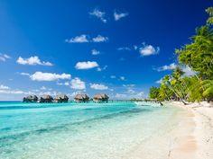Tikehau Island in Tahiti