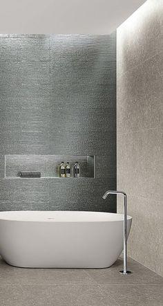 LUMINA GLAM: piastrelle per il bagno moderno ed elegante | FAP Bathtub, Bathroom, Elegant, Bath Tube, Bath Tub, Bathrooms, Bathtubs, Bathing, Bath