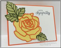 Using the new Rose Garden Thinlets, Rose Wonder Stamp Set, Stampin' Up!, #stampinup, Occasions 2016 catalog, created by Connie Babbert, www.inkspiredtreasures.com