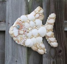 Image detail for - CRAFTY SUZANNE: SUMMER INSPIRED: Seashell-Embellished Birdhouses