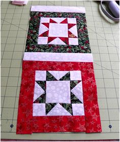 There's something about the North Star pattern that especially lends itself to Christmas designs. My mom and I have been having fun work...