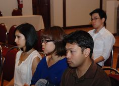 Orientation Day at the Asian Institute of Technology (AIT), Thailand on 8 January 2013.