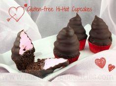 GF high hat cupcakes @Ashley Walters Ostrander