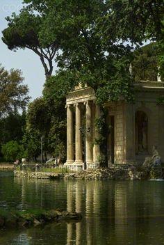 tempio di diana villa borghese roma pinterest villas and rome. Black Bedroom Furniture Sets. Home Design Ideas
