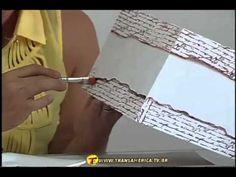 TV Transamérica - Pintura com carimbos