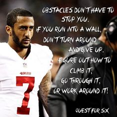.@Colin Kaepernick stay on top 49ers!#goldenstateofmind