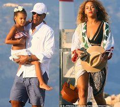 Beyonce rocks sexy beachwear as she enjoys time out with Jay Z and Blue Ivy - Ederkeji.com