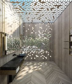 did you ever seen an outstanding ceiling like this? - Design Cointrend News Skylight Design, Ceiling Design, Instagram Design, Eve Instagram, Luxury Interior, Interior Architecture, Facade Design, House Design, Spa Design