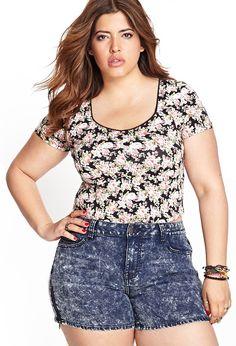 42becbd7746f Denise Bidot for Forever 21 Trendy Plus Size Fashion