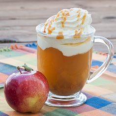Hot caramel apple cider. so making this tomorrow!!
