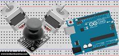Controllo di due motori passo passo con Arduino e un Joystick