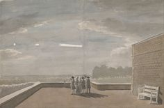 File:Paul Sandby - The Meteor of August 18, 1783, as seen from the East Angle of the North Terrace, Windsor Castle - Google Art Project.jpg