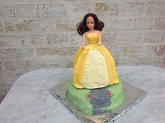 Prinsesse kage af chokolademud.