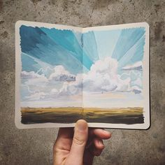 September 2015 :: Carrie Shryock paint this Sketchbook Inspiration, Art Sketchbook, Painting Inspiration, Art Inspo, Guache, Moleskine, Photo Instagram, Art Journal Pages, Art Journals