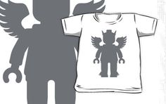 """WINGED GREEK GOD by Customize My Minifig"" Kids Clothes by ChilleeW 
