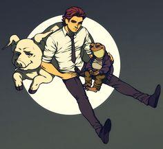 family wolf by Kiwisaurus.deviantart.com on @DeviantArt