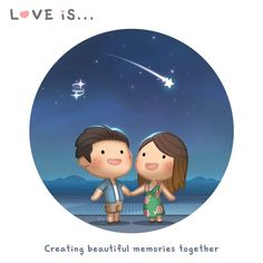 Little cute romance episodes of love and happiness to brighten up your day. Hj Story, Cute Love Cartoons, Cute Cartoon, Cute Love Stories, Love Story, Love Is Sweet, What Is Love, Ah O Amor, Desenhos Love