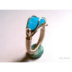 Killer Blu Hemimorphite men's ring