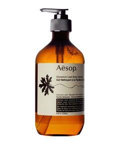 Geranium Leaf Body Cleanser from Aesop #BeautyBuyersEdit #LibertyBeauty