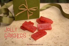 Sugar-Free Jolly Ranchers anyone? FULL RECIPE HERE hard candy hard candy recipe hard tack candy recipe hard candy recipe cinn. Low Carb Candy, Keto Candy, Low Carb Sweets, Low Carb Desserts, Healthy Candy, Diabetic Desserts, Healthy Snacks, Healthy Eating, Sugar Free Hard Candy