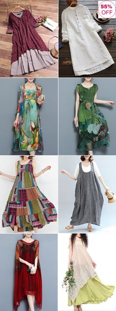 UP TO OFF! Find Fashion VintageFloral and Maxi Dresses on Newchic.Shop Now Tesettür Şalvar Modelleri 2020 Boho Fashion, Fashion Vintage, Girl Fashion, Womens Fashion, Boho Outfits, Cute Outfits, Fashion Outfits, Diy Clothes, Clothes For Women