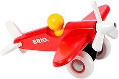 Duwbaar houten vliegtuig