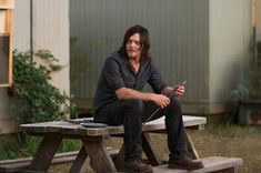 Norman Reedus as Daryl Dixon - The Walking Dead _ Season Episode 13 - Photo Credit: Gene Page/AMC Walking Dead Tv Series, Walking Dead Season, The Walking Dead, American Movie Classics, Twd 7, Talking To The Dead, Walking Dead Zombies, Stuff And Thangs, Daryl Dixon