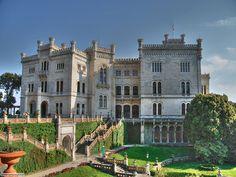 Castello di Miramare, Trieste, Italia (1860)