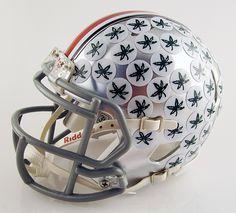 Ohio State University Buckeyes Mini Football Helmet by T-Mac Sports