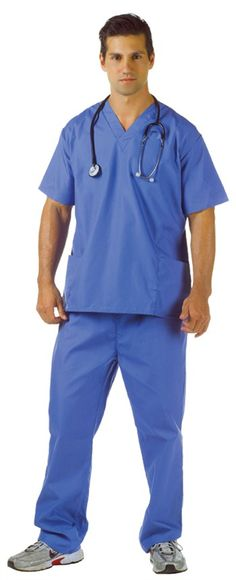 Cool Costumes Blue Scrubs Adult Costume just added...