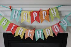 Hey, I found this really awesome Etsy listing at https://www.etsy.com/ca/listing/528712530/happy-birthday-banner-colorful-theme