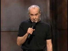 george carlin stand up comedy - test farting
