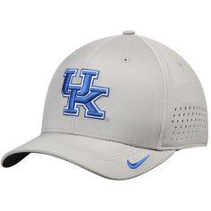 Kentucky Wildcats Nike Sideline Vapor Coaches Performance Flex Hat - Gray