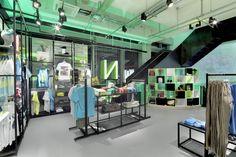 Sports Store | Retail Design | Shop Interior | Sports Display | Adidas NEO flagship store, Berlin store design