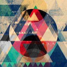 GRAPHICS - MAREIKE BOHMER  Des lignes épurées, des couleurs vives et de belles formes et motifs géométriques.