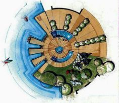 Landscape Architecture Programs with Landscape Gardening Design Ideas by Mode. - Landscape Architecture Programs with Landscape Gardening Design Ideas by Modern Landscape Garden - Architecture Concept Drawings, Landscape Architecture Drawing, Landscape Sketch, Landscape Design Plans, Landscape Concept, Landscape Architecture Design, Architecture Graphics, Urban Landscape, Urban Park