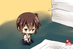 Paperwork [KanColle] : Chibi