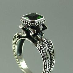 Wedding Ring • Sergey Zhiboedov's Caryatid Engagement Ring
